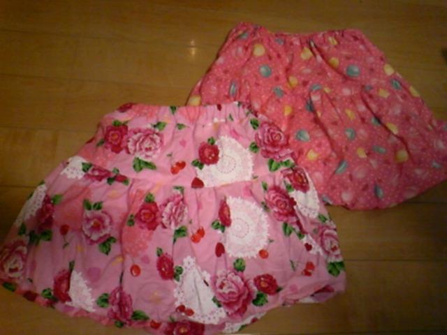 バルーンスカート。